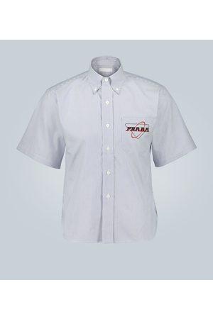 Prada Striped print shirt with logo