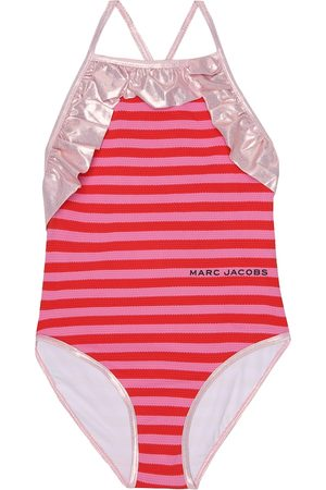 The Marc Jacobs Striped swimsuit