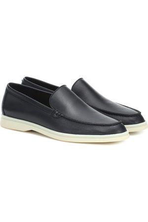 Loro Piana Summer Walk leather loafers