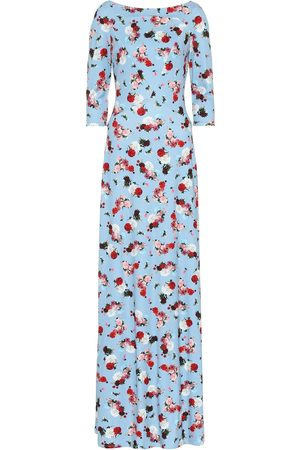Erdem Exclusive to Mytheresa – Valentina floral ponte gown