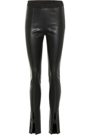 Rick Owens DRKSHDW faux leather leggings