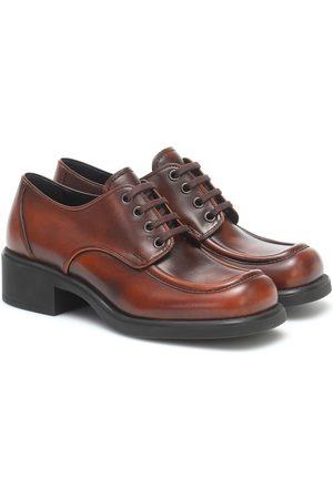 Miu Miu Leather Derby shoes