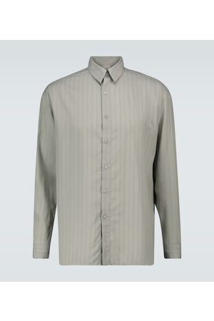 Éditions M.R Pantheon striped shirt