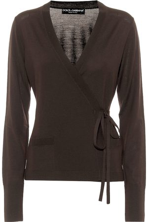 Dolce & Gabbana Virgin wool wrap cardigan
