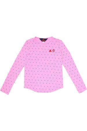 The Animals Observatory Tao polka-dot cotton T-shirt