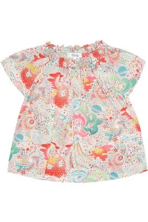 BONPOINT Goldia printed cotton top