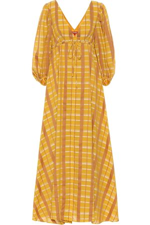 Staud Amaretti cotton-blend maxi dress