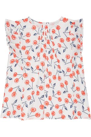 BONPOINT Lune printed cotton top