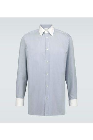 Maison Margiela Striped cotton shirt