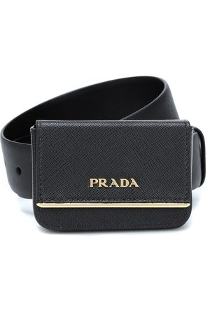 Prada Logo leather belt bag