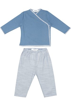 BONPOINT Baby cotton top and pants set