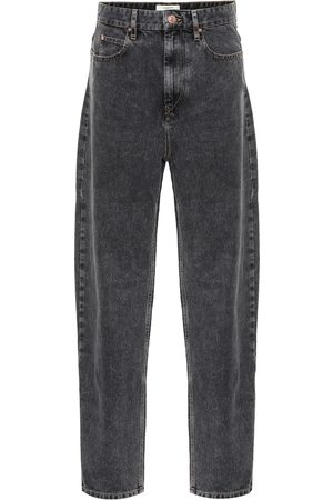 Isabel Marant Corsyj high-rise straight jeans