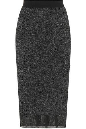 RAG&BONE Rower metallic midi skirt