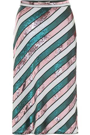 Diane von Furstenberg Sheen sequined midi skirt