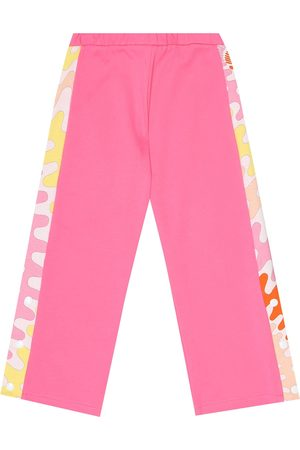 Emilio Pucci Cotton-jersey trackpants