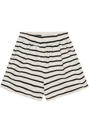 Brunello Cucinelli Exclusive to Mytheresa – Striped cotton-jersey shorts