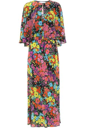 Les Rêveries Exclusive to Mytheresa – Floral silk maxi dress