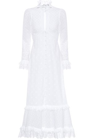 Erdem Miguella broderie-anglaise cotton dress