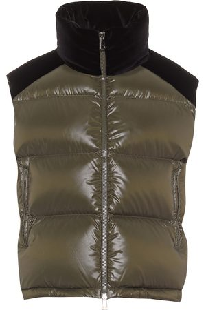 Moncler Exclusive to Mytheresa - Segal velvet and down gilet