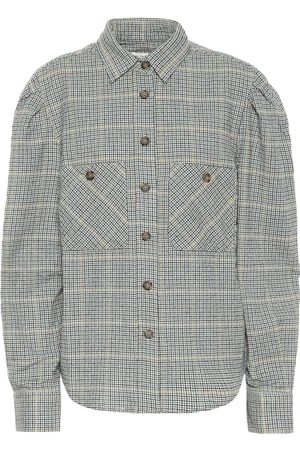 Isabel Marant Falco checked cotton-blend shirt