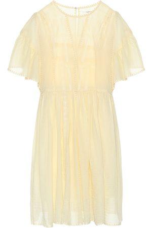 Isabel Marant Annaelle cotton lace minidress