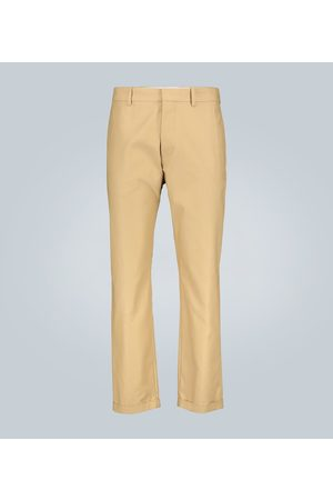 Marni Compact cotton twill pants