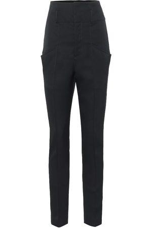 Isabel Marant Padme high-rise wool pants