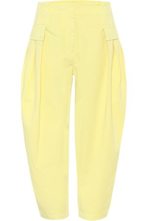 Stella McCartney High-rise carrot jeans