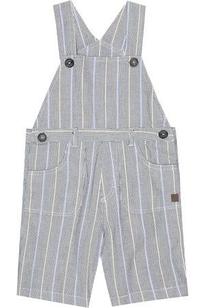 Tartine Et Chocolat Baby striped stretch-cotton overalls