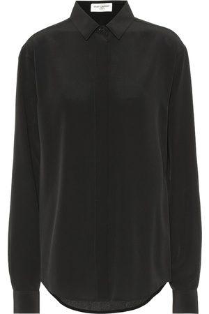 Saint Laurent Silk crêpe de chine blouse