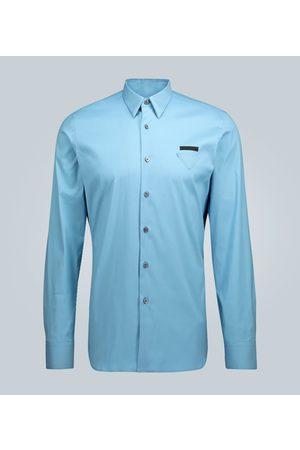 Prada Long-sleeved shirt with logo