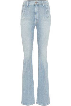 Mother The Drama high-rise bootcut jeans