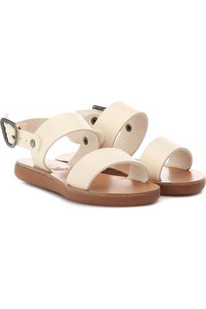 Ancient Greek Sandals Little Clio Soft leather sandals