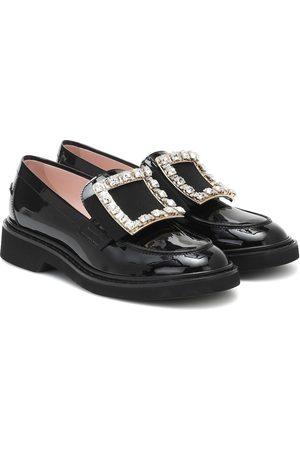 Roger Vivier Viv' Rangers patent-leather loafers