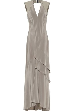 Max Mara Arezzo silk-crêpe gown