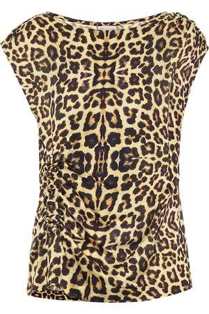 DRIES VAN NOTEN Leopard-print top