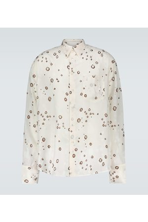 CMMN SWDN Jacquard long-sleeved shirt