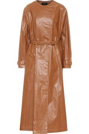 Isabel Marant Corly linen-blend trench coat