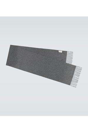 Alexander McQueen Herre Skjerf - Fringed cashmere scarf