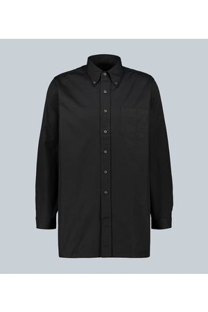 Prada Divisia poplin cotton shirt