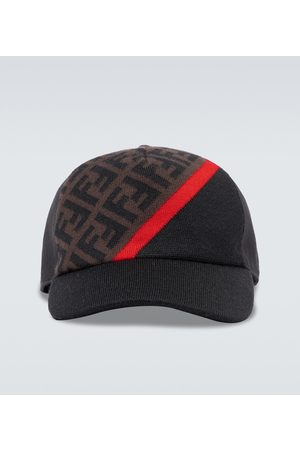 Fendi FF contrast baseball cap
