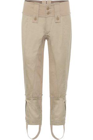 JUNYA WATANABE Cropped mid-rise skinny cotton pants