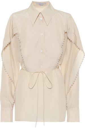 Stella McCartney Tayla silk-georgette shirt