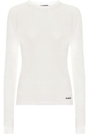 Jil Sander Cotton-jersey top