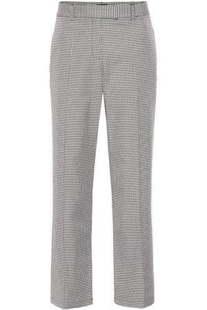 A.P.C Cece checked cotton-blend pants
