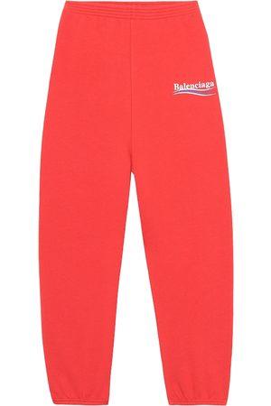 Balenciaga Cotton-blend trackpants