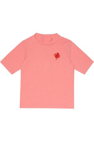 Mini Rodini Clover embroidered T-shirt