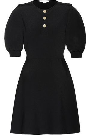 Stella McCartney Ribbed-knit minidress