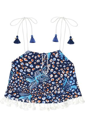 POUPETTE ST BARTH Mara printed georgette top