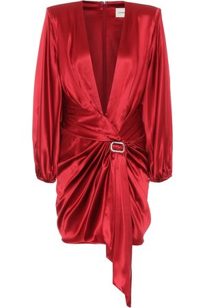 ALEXANDRE VAUTHIER Stretch silk-satin dress